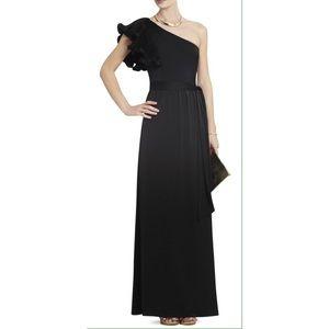 BCBGMAXAZRIA One Shoulder Ball Gown